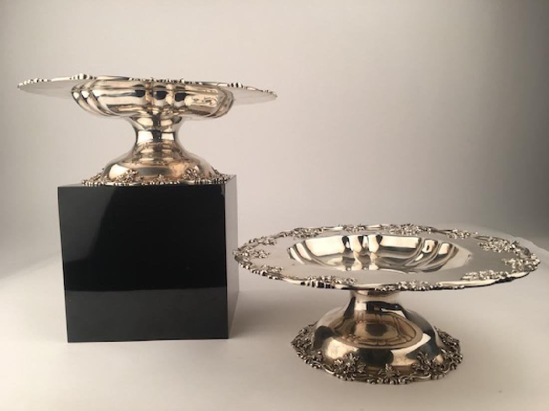 Howard and Company New york two sterling silver serving