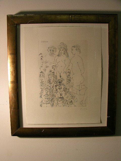 2885: PABLO PICASSO (SPANISH 1881-1973)ORIGINAL ETCHING