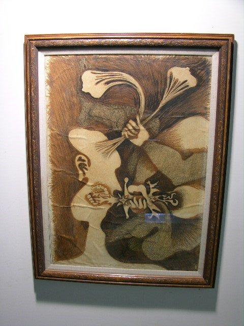 2890: ROBERTO DIAGO (CUBA. 1920-1957)EXPRESSIONIST/SURR