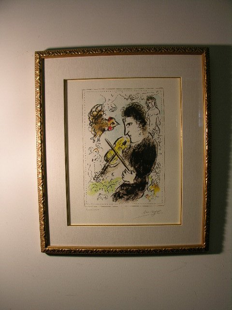 2895: MARC CHAGALL (RUSSIAN BORN. WORKED FRANCE 1887-19