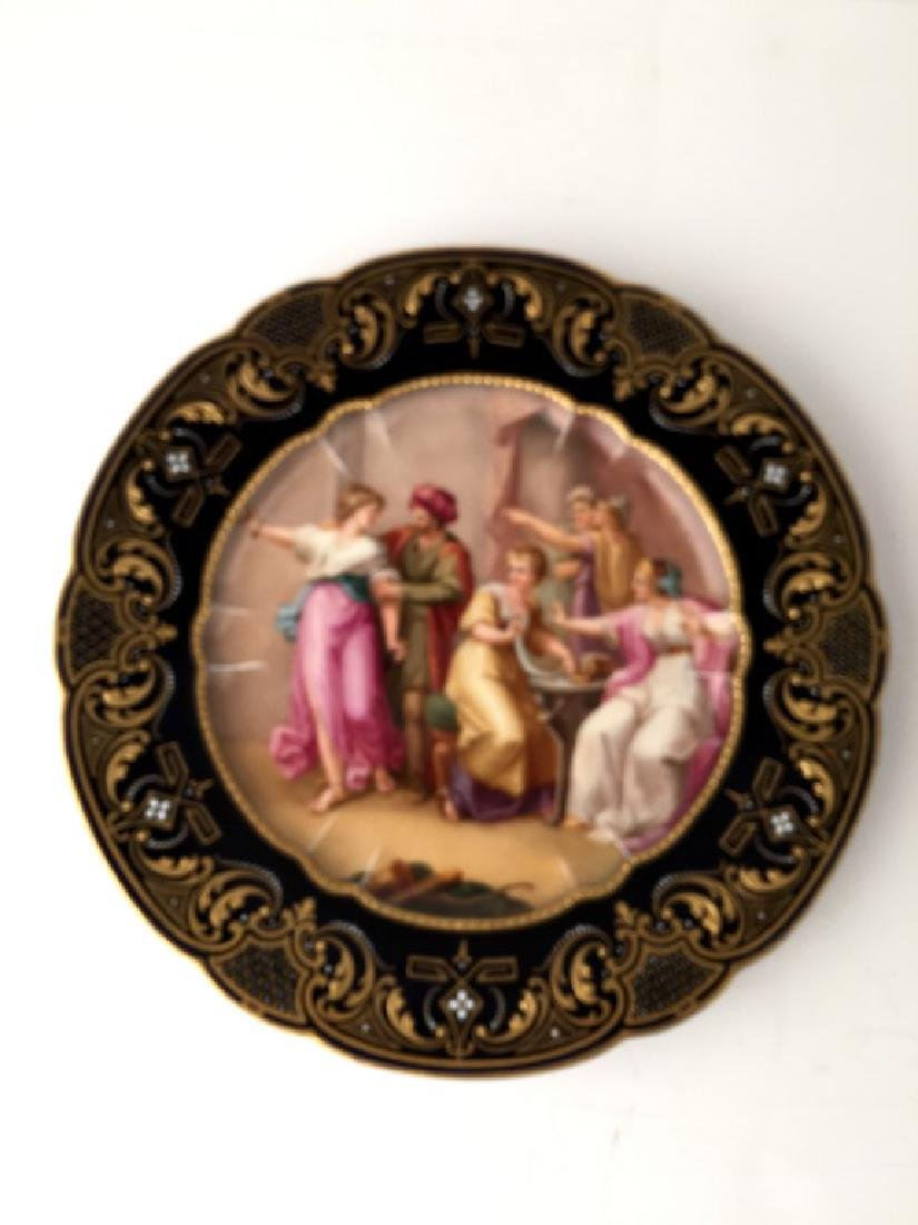 19th century Royal Vienna porcelain cabinet plate,