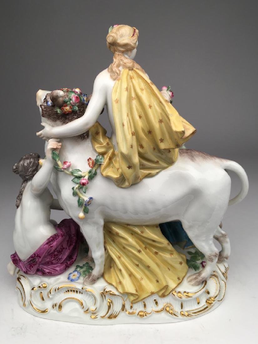 19 th century Meissen group of Europa and the Bull - 2