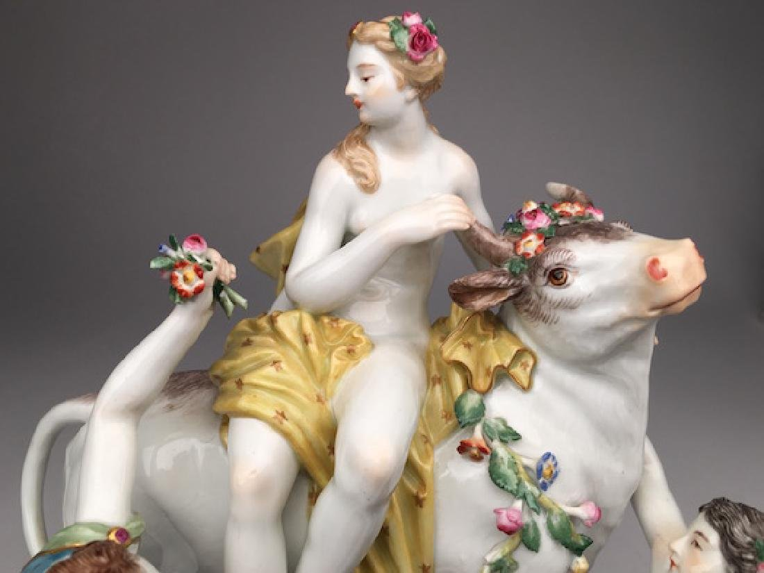 19 th century Meissen group of Europa and the Bull - 3