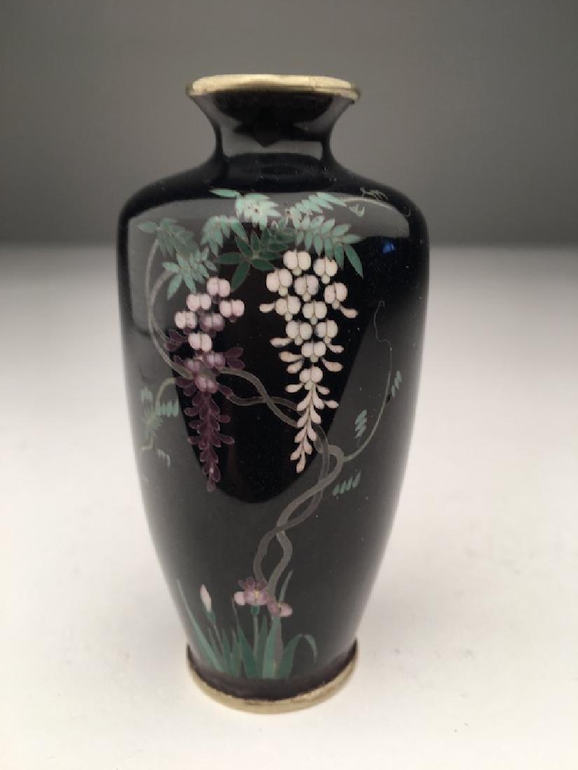 Japanese cloisoinne vase.