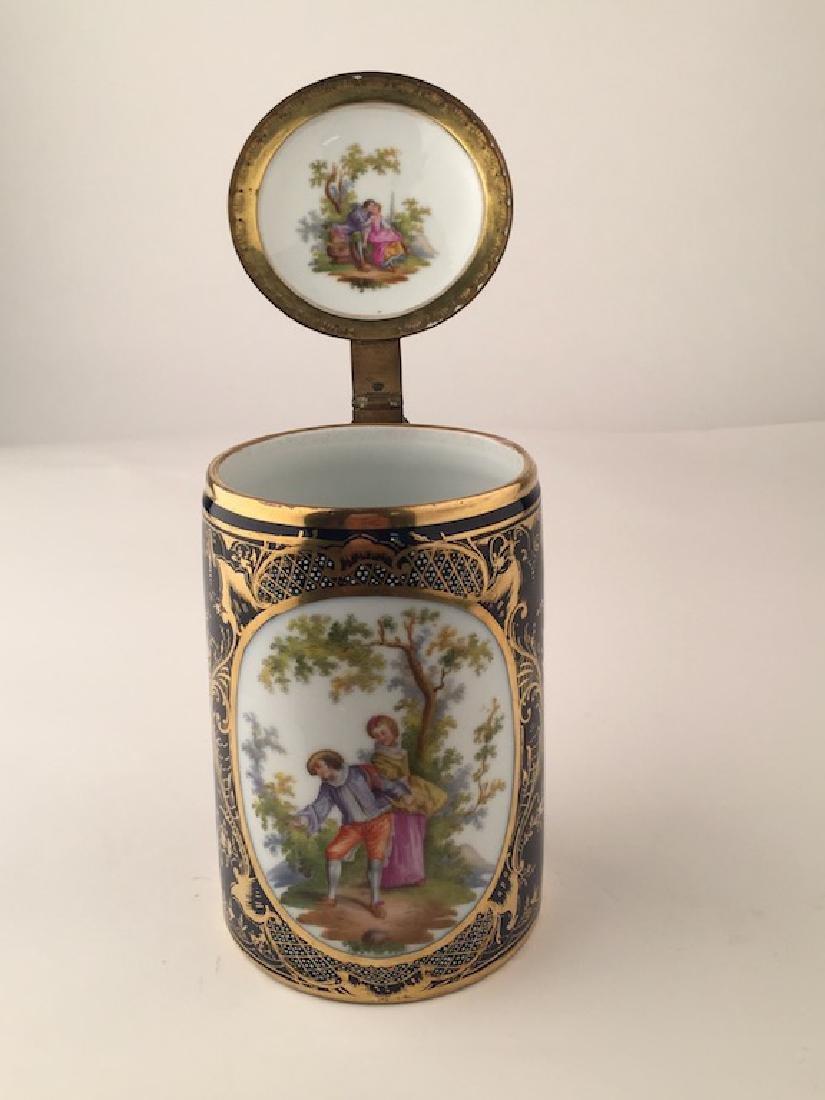 Royal Vienna Scenic Porcelain Stein Tankard Porzellan
