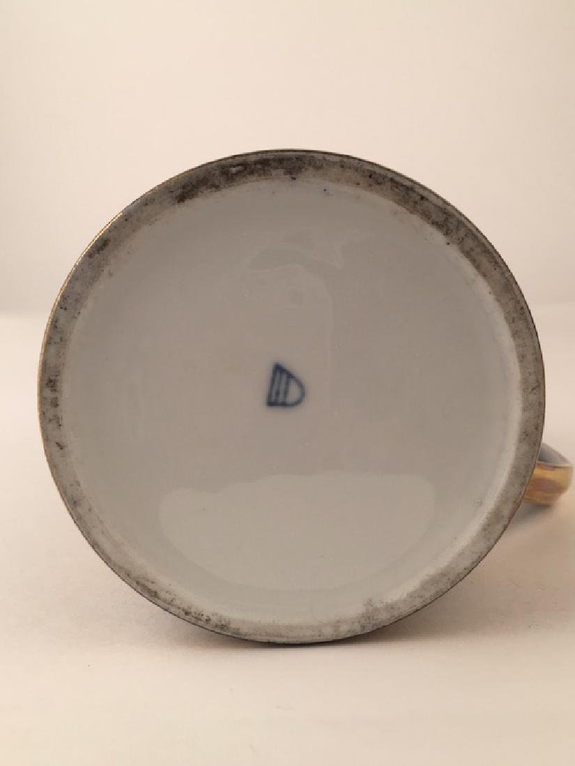 Royal Vienna Scenic Porcelain Stein Tankard Porzellan - 9