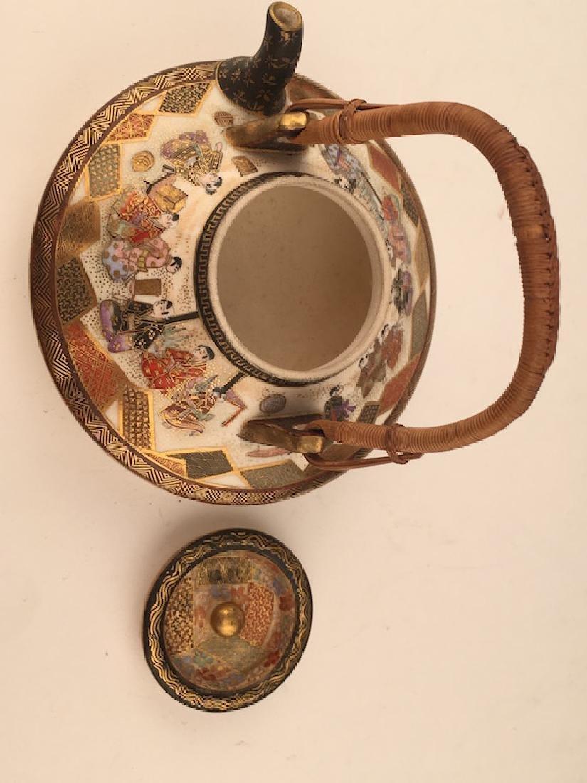 19 th Century Japanese porcelain Satsuma tea or sake - 6