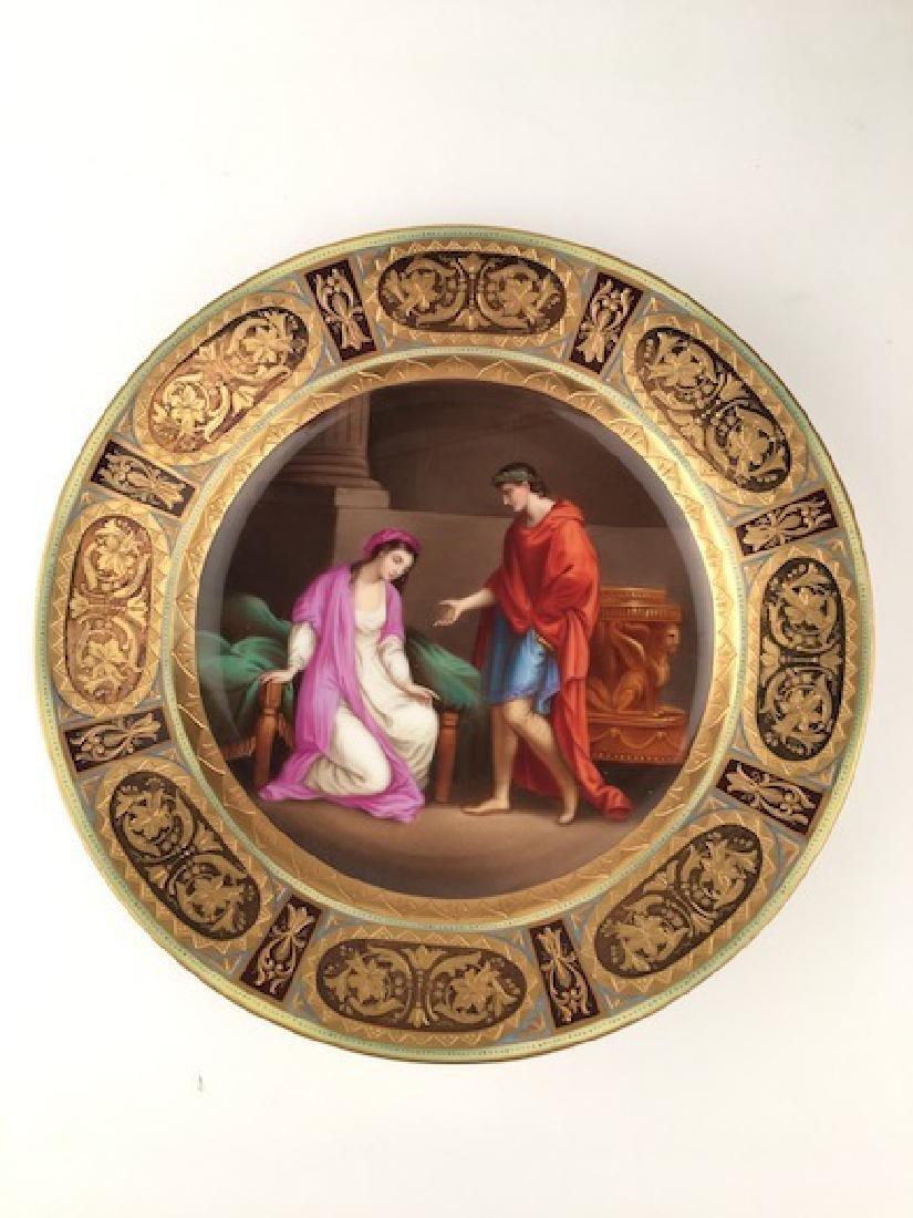 19 th Century Royal Vienna portrait plate.
