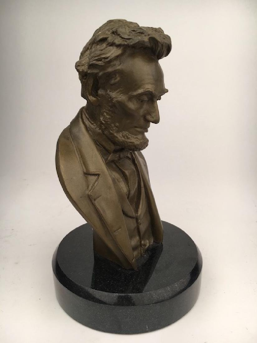Abraham Lincoln modern re cast bust - 2