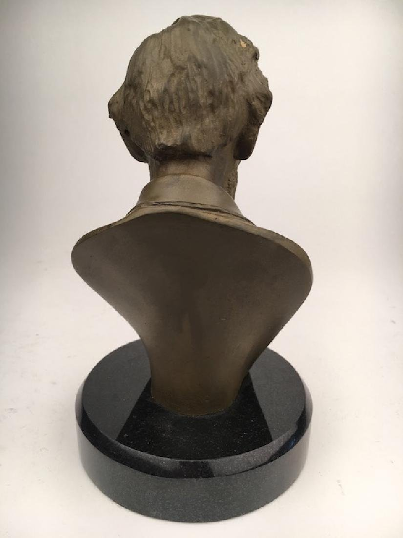 Abraham Lincoln modern re cast bust - 4