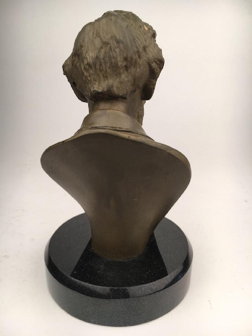 Abraham Lincoln modern re cast bust - 5