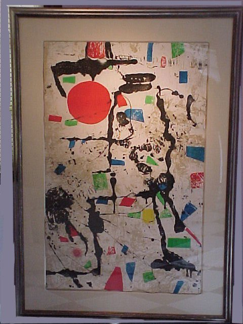 3501: JOAN MIRO (SPANISH 1893-1983). ORIGINAL COLOR ETC