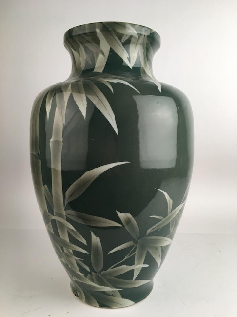 Circa 1900 Japanese Studio large porcelain vase - 2