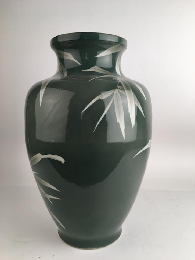Circa 1900 Japanese Studio large porcelain vase - 3