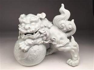 Late 19 early 20 th century Chinese Blanc de Chine