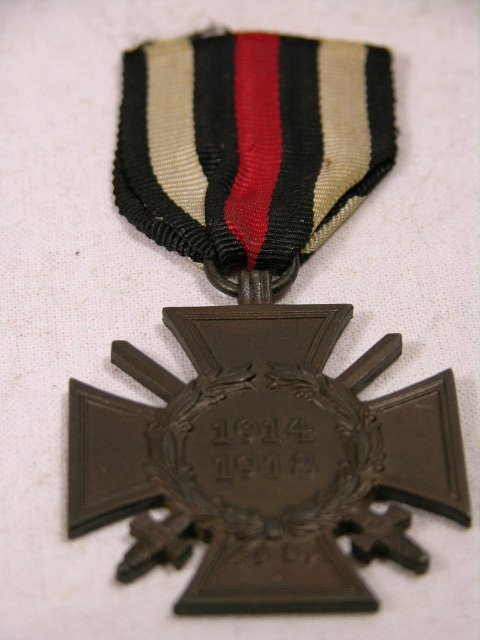 4104: CROSS OF HONOR FOR THE GREAT WAR, 1914-1918 GERMA