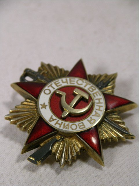 4106: ORDER OF THE PATRIOTIC WAR. RUSSIAN,FIVE POINTED