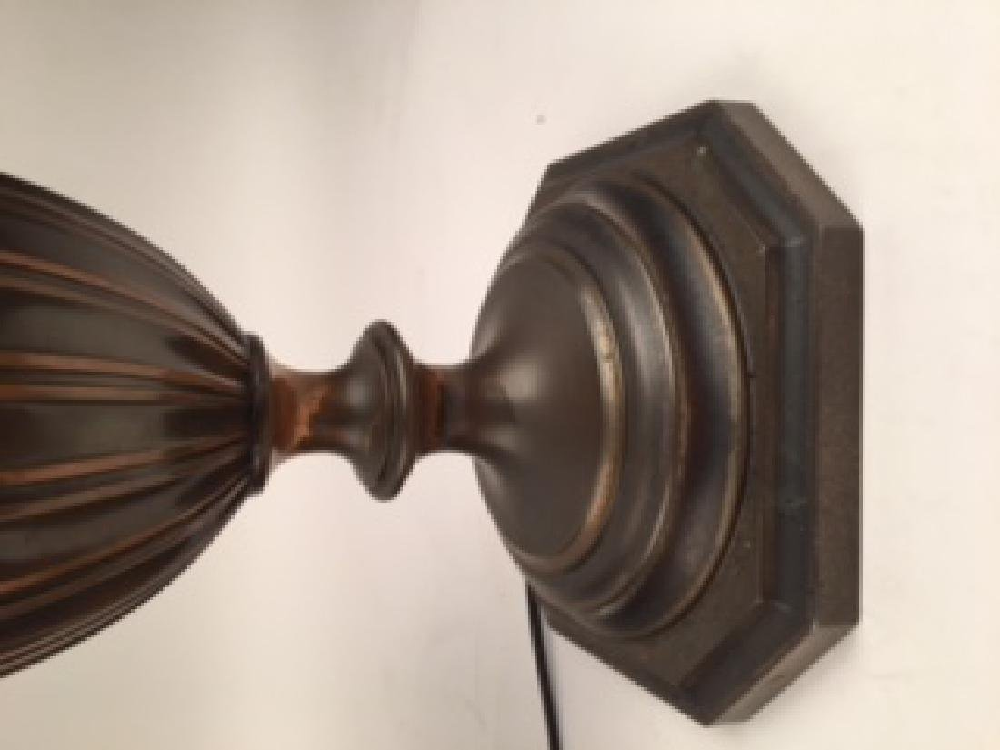Pairpoint Table Lamp, Countryside scene on an - 4