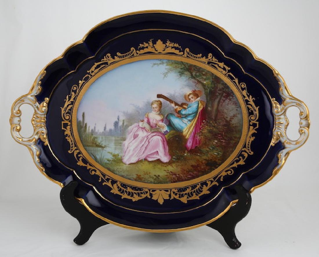 Most likely a KPM serving platter