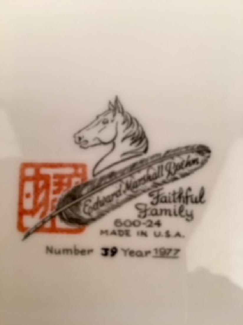 """Boehm plate """"Faithfull Family"""" 12 inche diameter. - 6"""