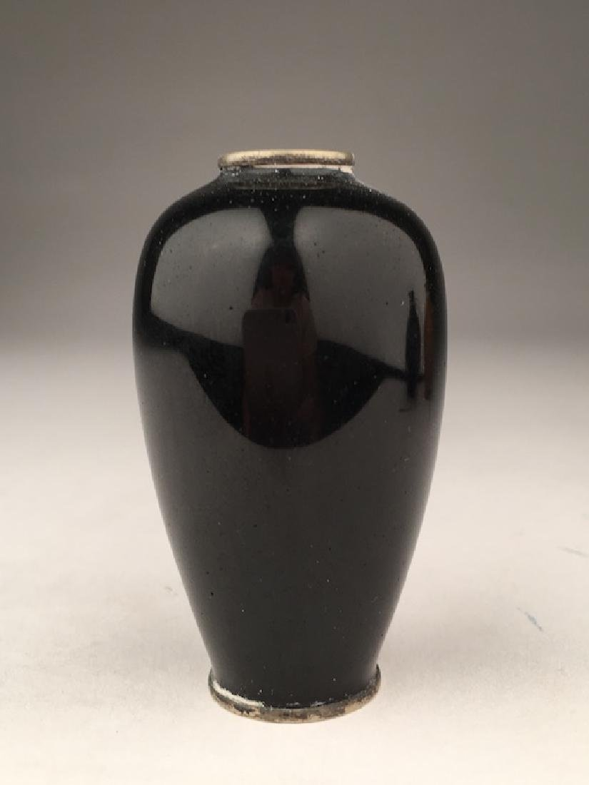 Minature Japanese cloisonne vase