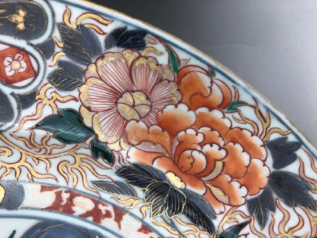 Antique Japanese porcelain platter. - 4