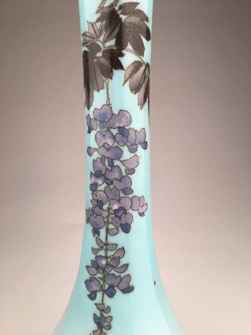 20 th century Japanese cloisonne vase - 6
