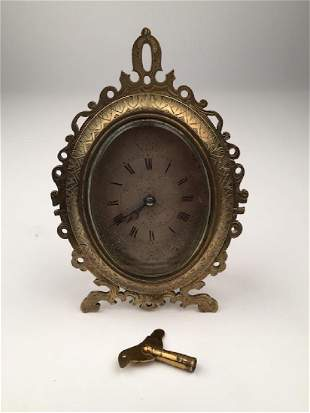 A strutt clock after those of Thomas Cole with a silver