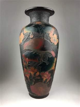 "Antique 19 th century Japanese Totai ""Tree Bark"""