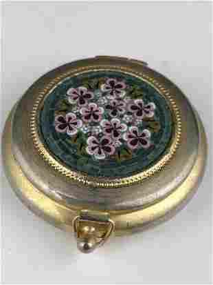 Micromosiac round box