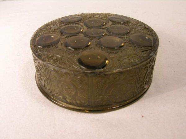 """296: RENE LALIQUE """"ROGER"""" BOX, CIRCA 1926."""