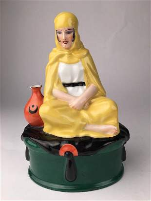 DH Chiparus Bedouine porcelain box