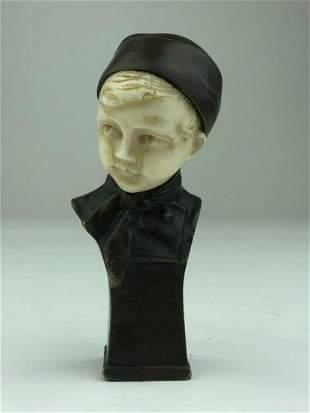 Ferdinand Lugerth Austrian 18851915 A figural