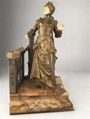 Rene Paul Marquet French 18751937 sculpture of a