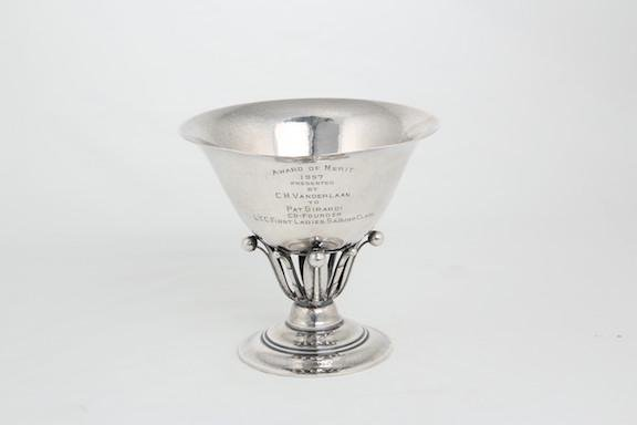 Georg Jensen, (Danish,1866-1935) Sterling silver