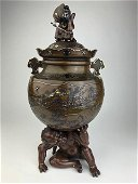 Japanese mixed metal Kuro attributed to and most likely