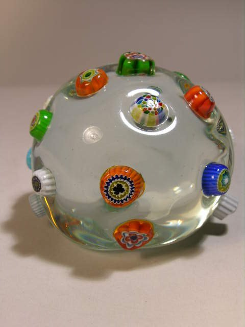 2007: GLASS PAPERWEIGHT.