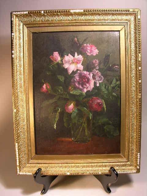 2014: WALTER G. SANDERS (BRITISH, C. 1888)  PINK ROSES