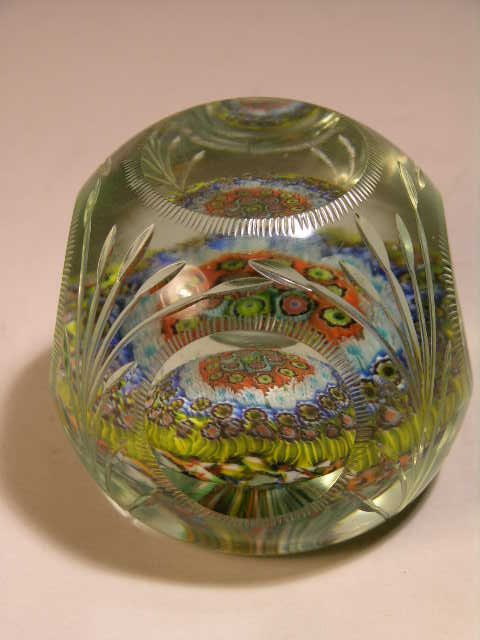 2750: GLASS PAPERWEIGHT.