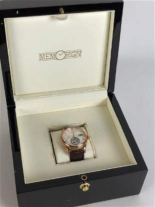 Men's Torbillon Watch, New in Box With Papers