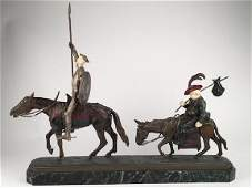 Lucien Charles Alliot bronze figure.