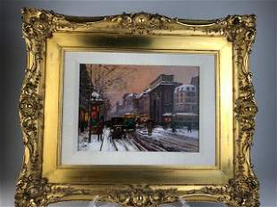 Edouard Léon Cortès 1882-1969 (French). Oil on canvas