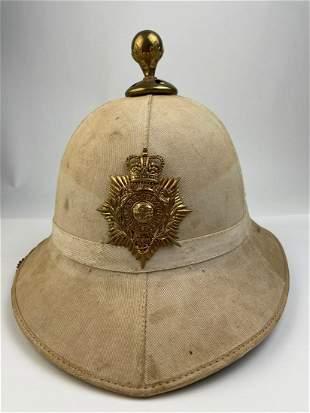 British Marine Wolseley Pattern Foreign Service Helmet