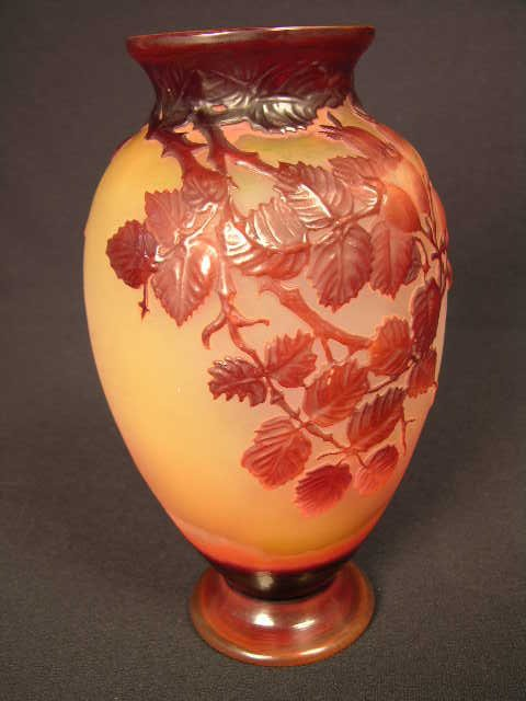 6: EMILLE GALLE CAMEO VASE.