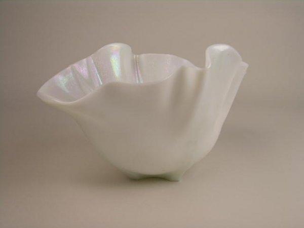 20: STEUBEN ART GLASS GROTESQUE BOWL.