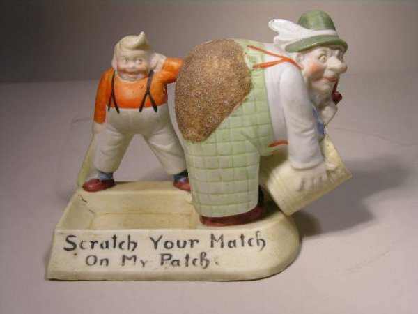 250: SHAFER AND VATER FIGURINE.