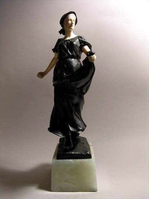 15: SCHMIDT FELLING LADY SOWING SEED.