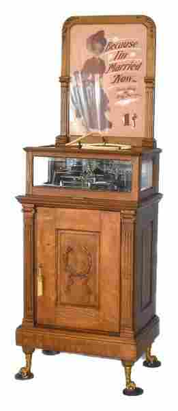 """COLUMBIA """"ROSENFIELD"""" COIN-OP PHONOGRAPH Housed in"""