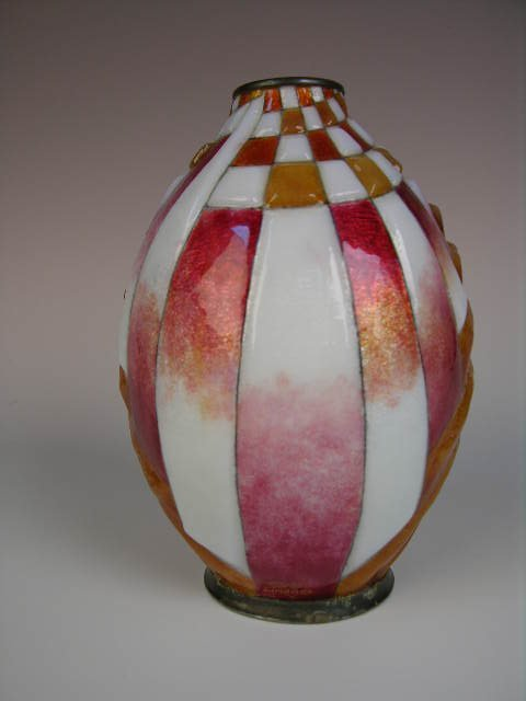 41: CAMILLE FAURE FRENCH VASE.