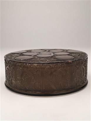 "Rene Lalique ""Roger"" box."